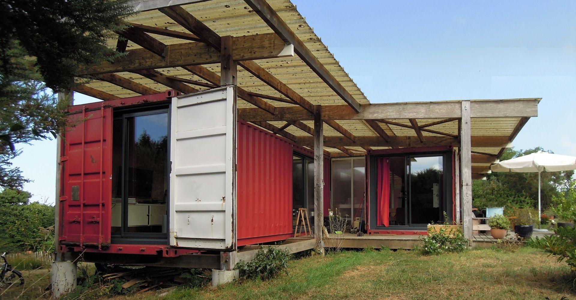 Faire Construire Une Maison Container la maison en conteneurs